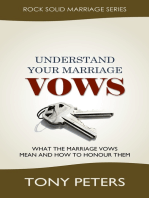Understand Your Marriage Vows