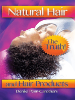 Natural Hair and Hair Products