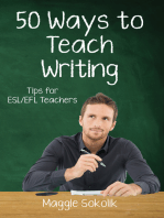 Fifty Ways to Teach Writing