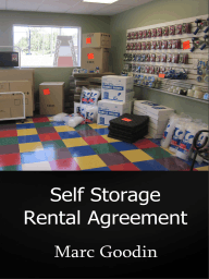Self Storage Rental Agreement