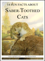 14 Fun Facts About Saber-Toothed Cats