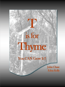 T is for Thyme