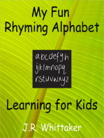 My Fun Rhyming Alphabet (Learning for Kids)