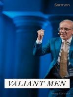 Valiant Men (sermon)