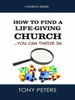 How to Find a Life-giving Church