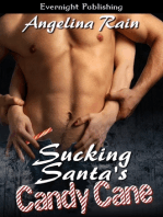 Sucking Santa's Candy Cane