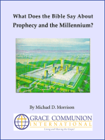 What Does the Bible Say About Prophecy and the Millennium?