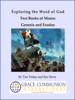 Exploring the Word of God Two Books of Moses