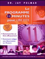 Le Programme 11 Minutes Pour Leer Vite