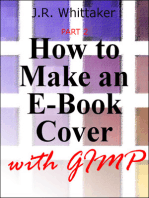 How to Make an E-Book Cover with Gimp PART 2
