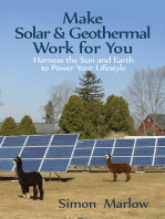Make Solar & Geothermal Work for You