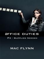 Office Duties #3 (Demon Paranormal Romance)