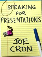 Speaking for Presentations
