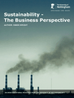 Sustainability: the Business Perspective