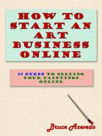 How to Start an Art Business Online