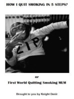 How I Quit Smoking in 5 Steps?