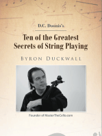 Ten of the Greatest Secrets of String Playing