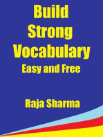 Build Strong Vocabulary