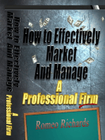 How to Effectively Market and Manage a Professional Firm