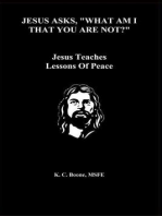 """Jesus Asks, """"What Am I That You Are Not?"""""""