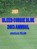 Bleed Cubbie Blue 2013 Annual
