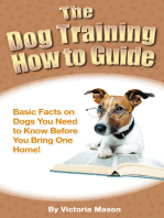 The Dog Training How to Guide