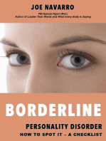 Borderline Personality Disorder How to Spot it