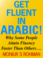 Get Fluent in Arabic!
