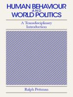 Human Behaviour and World Politics