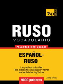Vocabulario Español-Ruso: 9000 Palabras Más Usadas