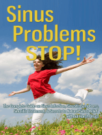 Sinus Problems Stop!