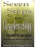 Seven Steps to Leadership