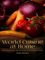 World Cuisine at Home