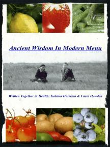 Ancient Wisdom In Modern Menu