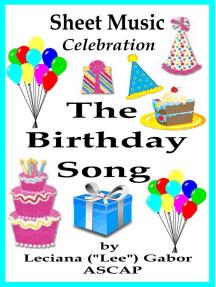 Sheet Music The Birthday Song