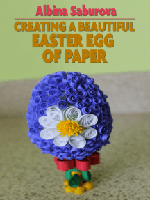 Creating a Beautiful Easter Egg of Paper