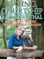 Dating, Courtship and Betrothal