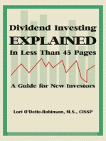 Dividend Investing Explained In Less Than 45 Pages