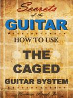 How To Use The Caged Guitar Chords System