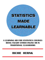 Statistics Made Learnable