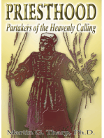 Priesthood:Partakers of the Heavenly Calling