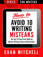 How to Avoid 10 Writing Misteaks