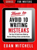 How to Avoid 10 Writing Misteaks