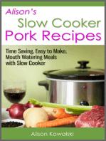 Alison's Slow Cooker Pork Recipes