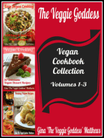 The Veggie Goddess Vegan Cookbook Collection