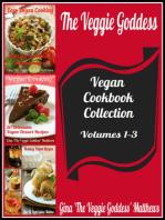 The Veggie Goddess Vegan Cookbook Collection