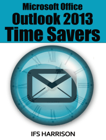 Microsoft Office Outlook 2013 Time Savers