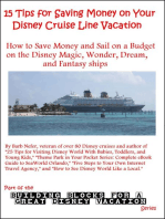 15 Tips for Saving Money on Your Disney Cruise Line Vacation