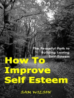 How To Improve Self-Esteem