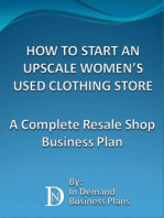 How To Start An Upscale Women's Used Clothing Store